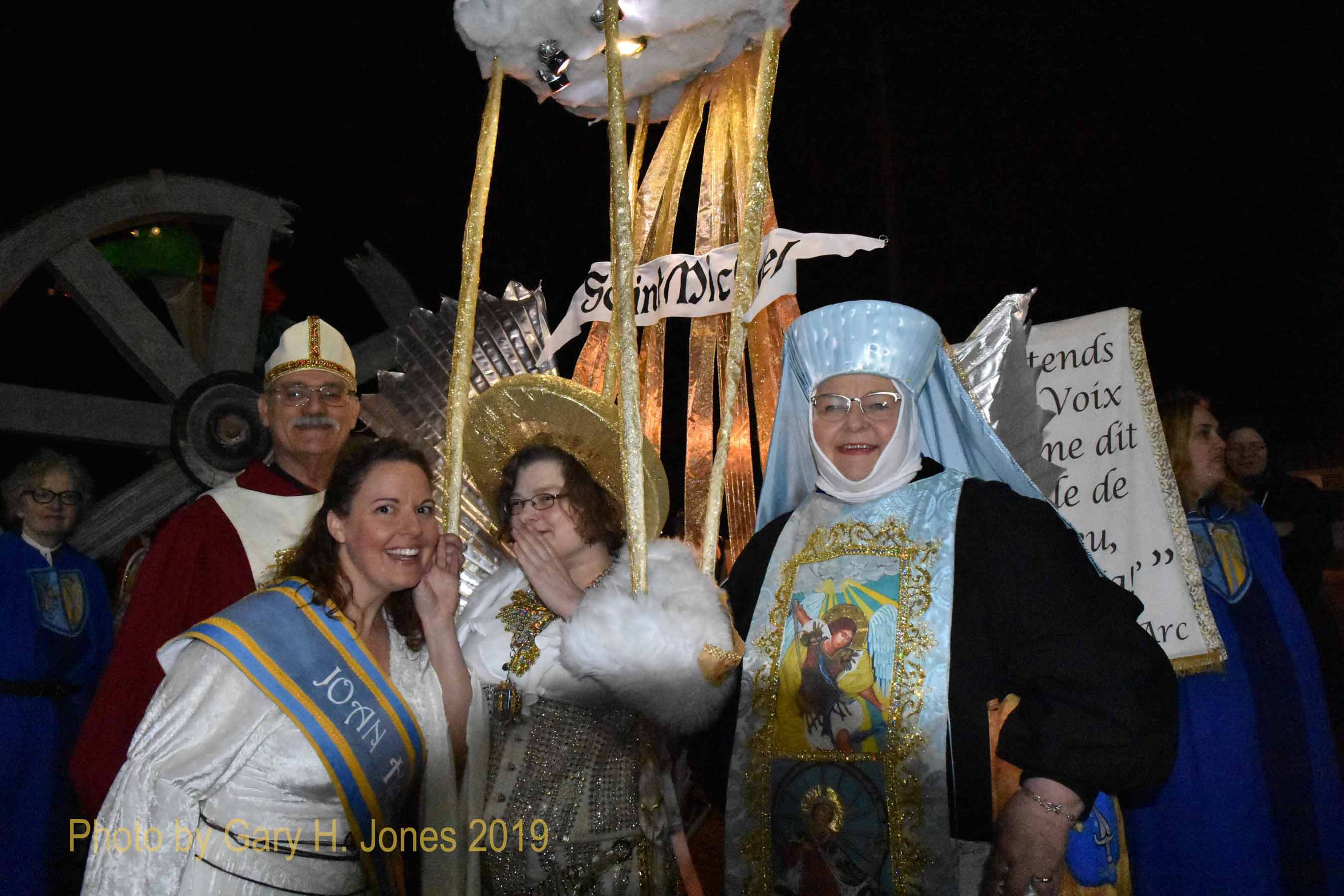 NOLA Joan of Arc parade staging
