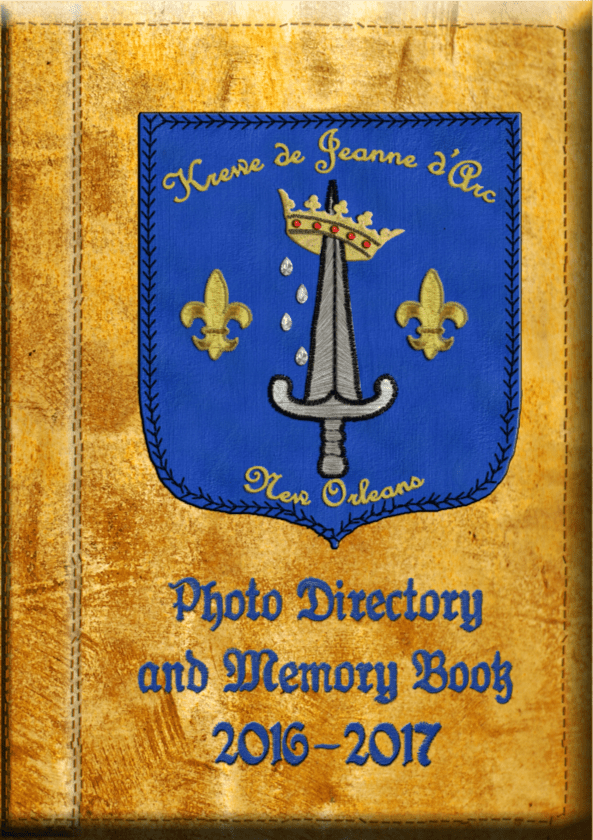 2015-2016 Photo directory and memory book with contact information for full members in the back. Keep this private.