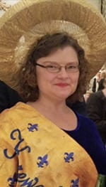 Membership director Amanda Helm