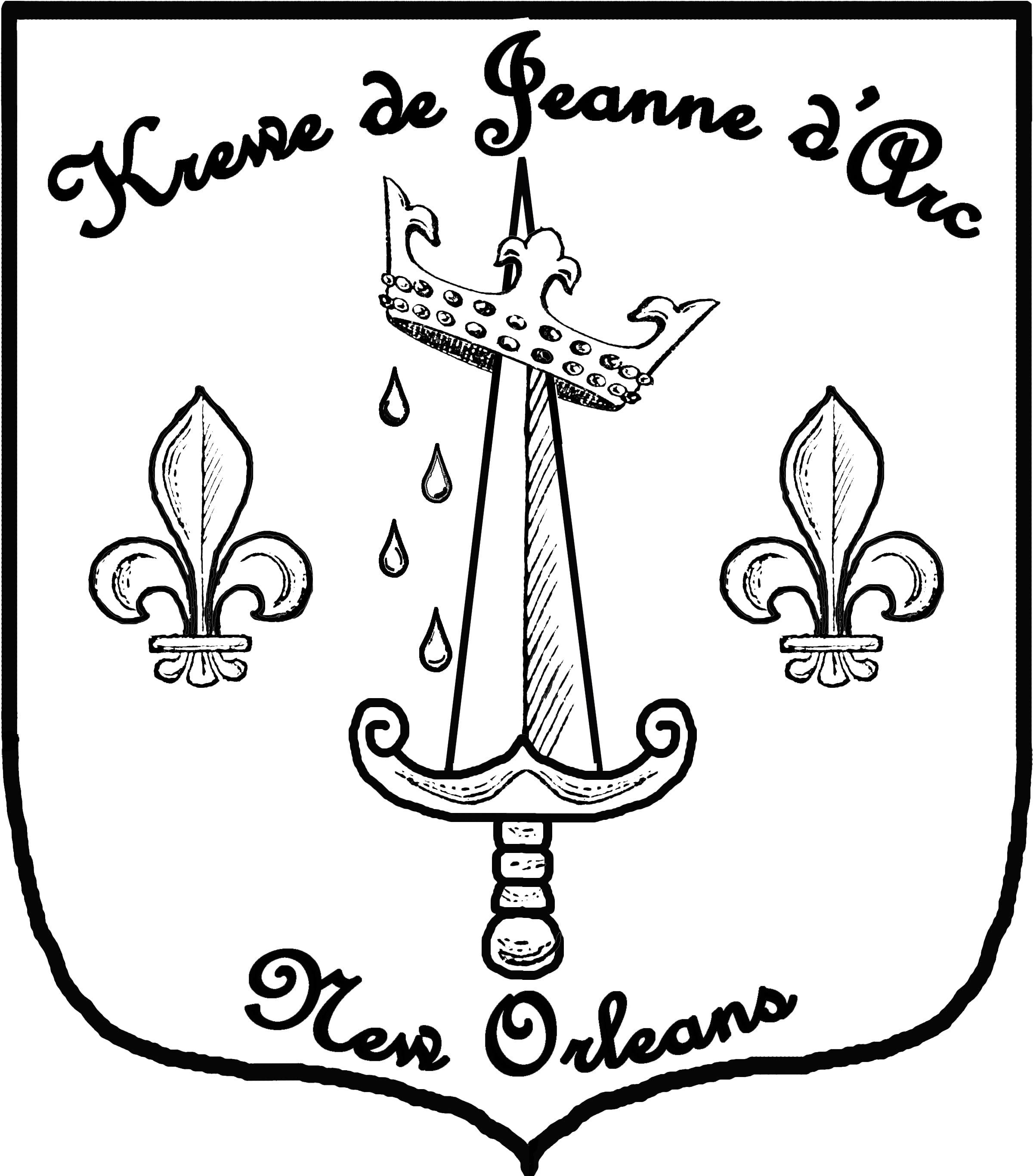 Krewe logo bw large