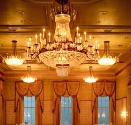 Bourbon Orleans ballroom chandelier