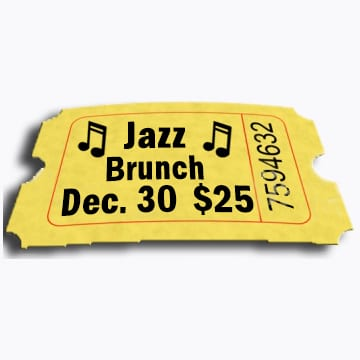 Jazz Brunch Tickets